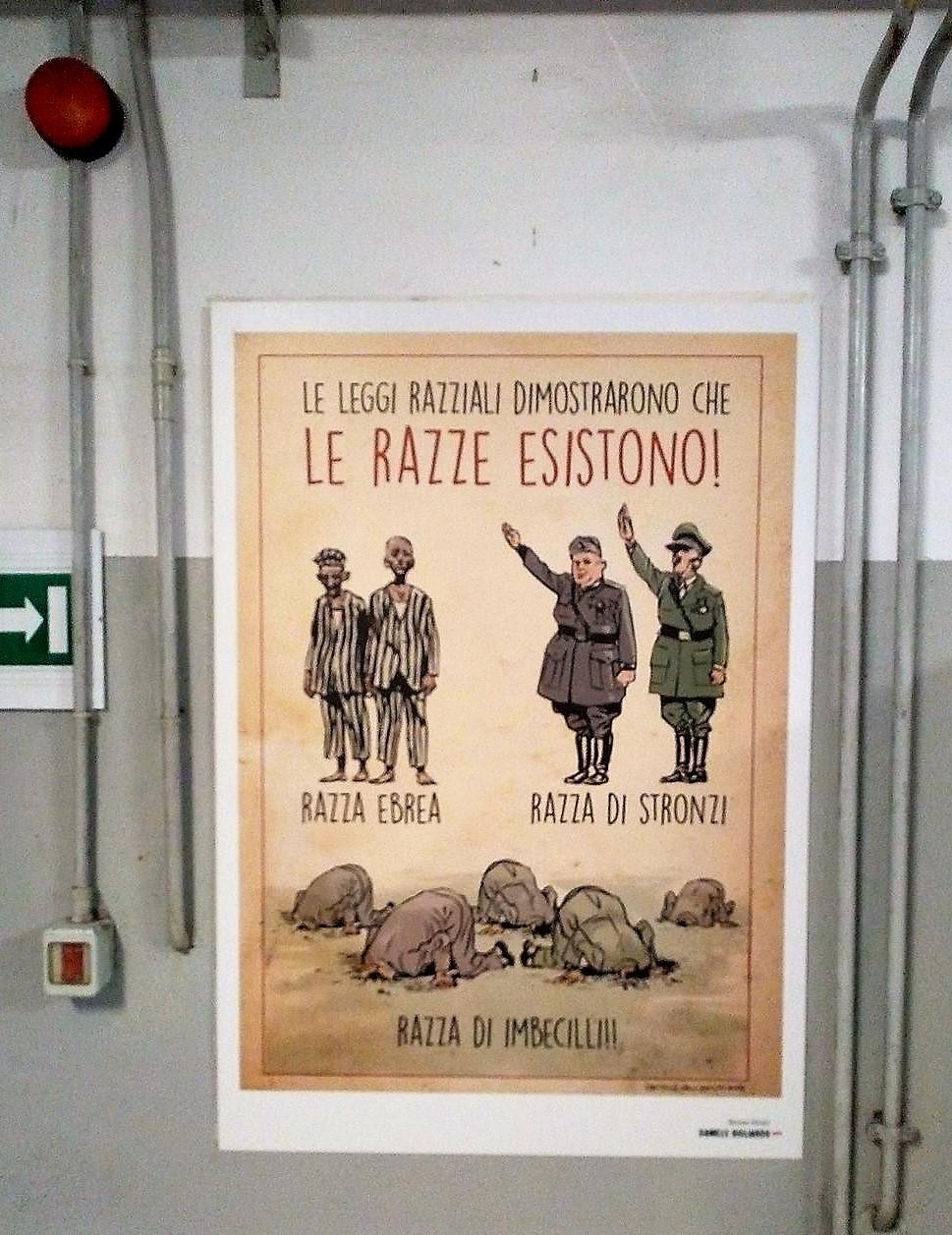 Leggi razziali fascismo ebrei antisemitismo Torino fumetto
