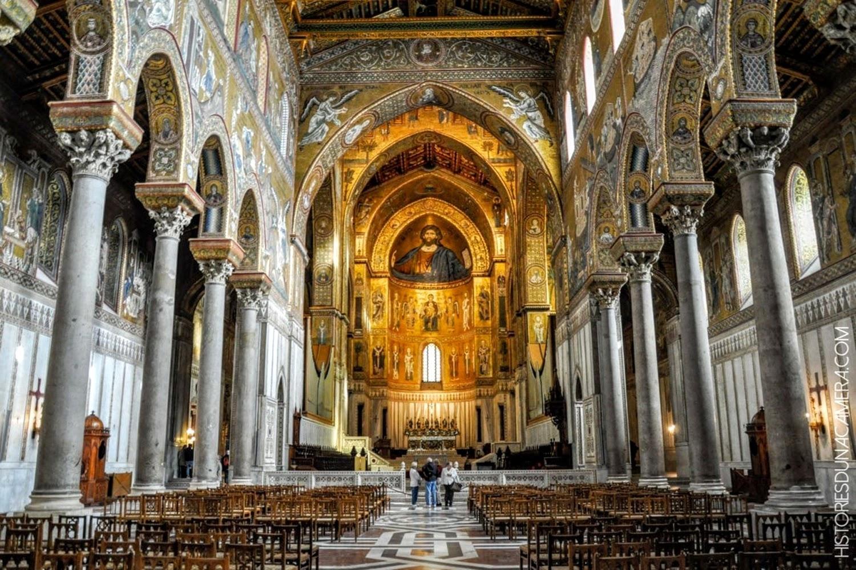 Basilica cristiana Monreale architettura
