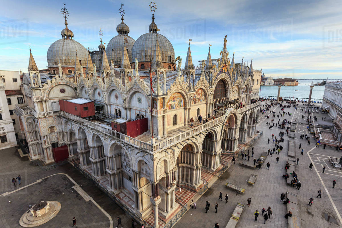 Basilica cristiana Venezia San Marco architettura