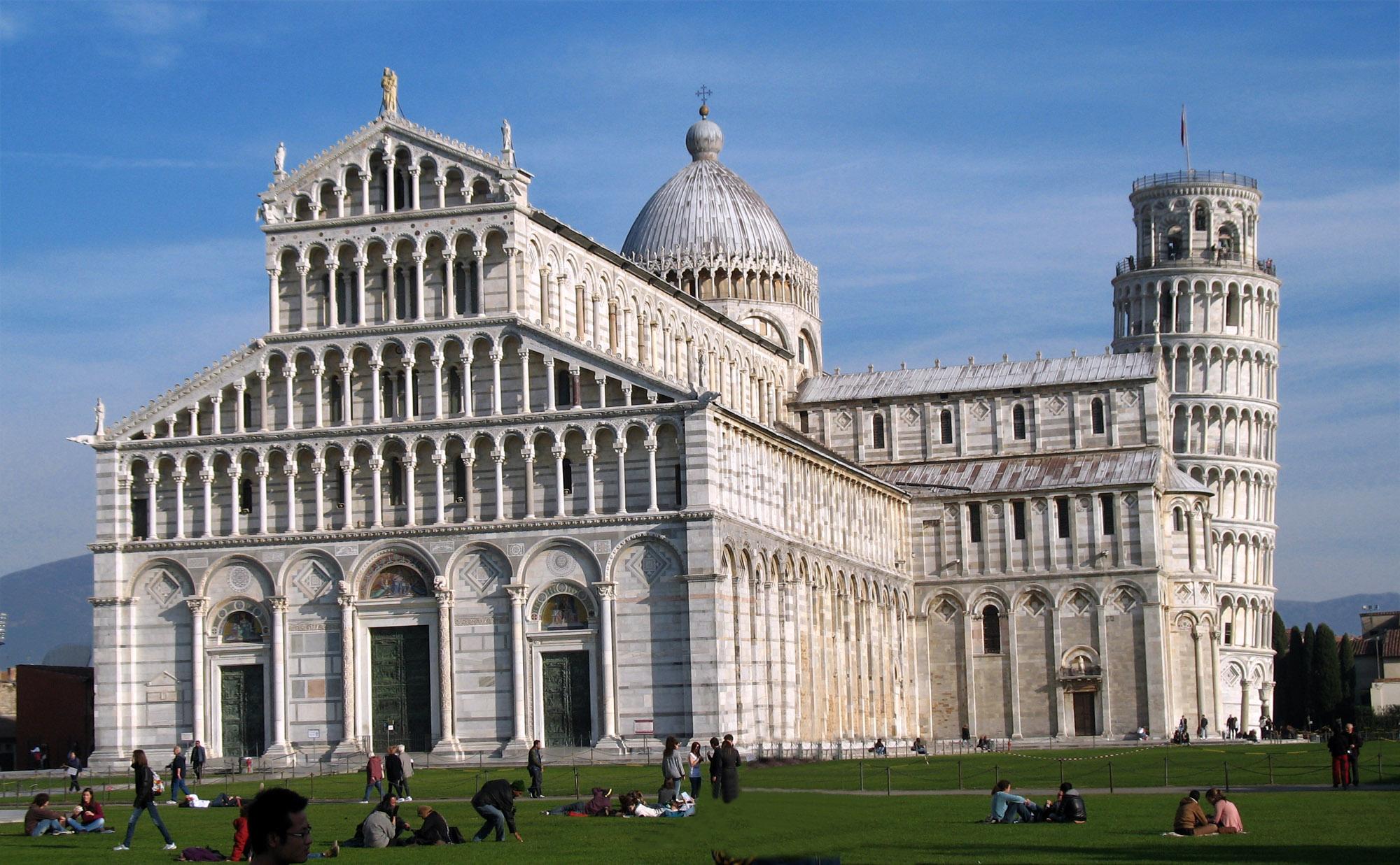 Basilica cristiana Romanico Pisa architettura