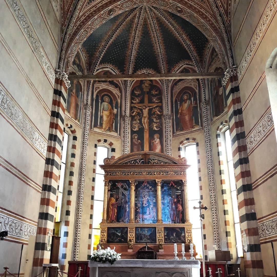 Pala d'altare Quattrocento Rinascimento Mantegna
