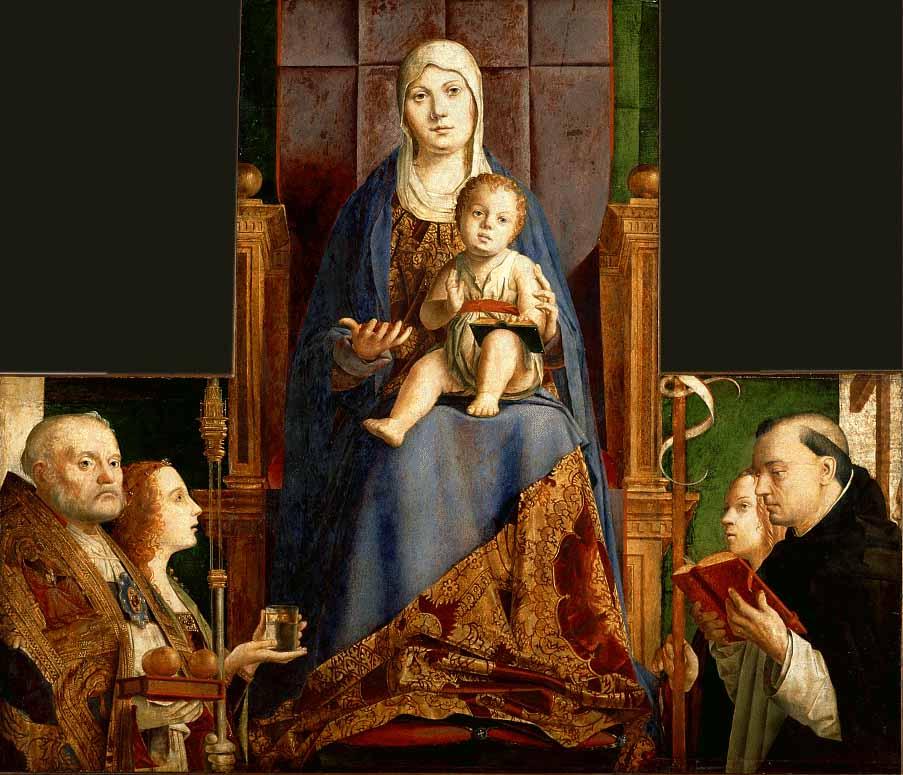Pala d'altare Quattrocento Rinascimento Antonello da Messina
