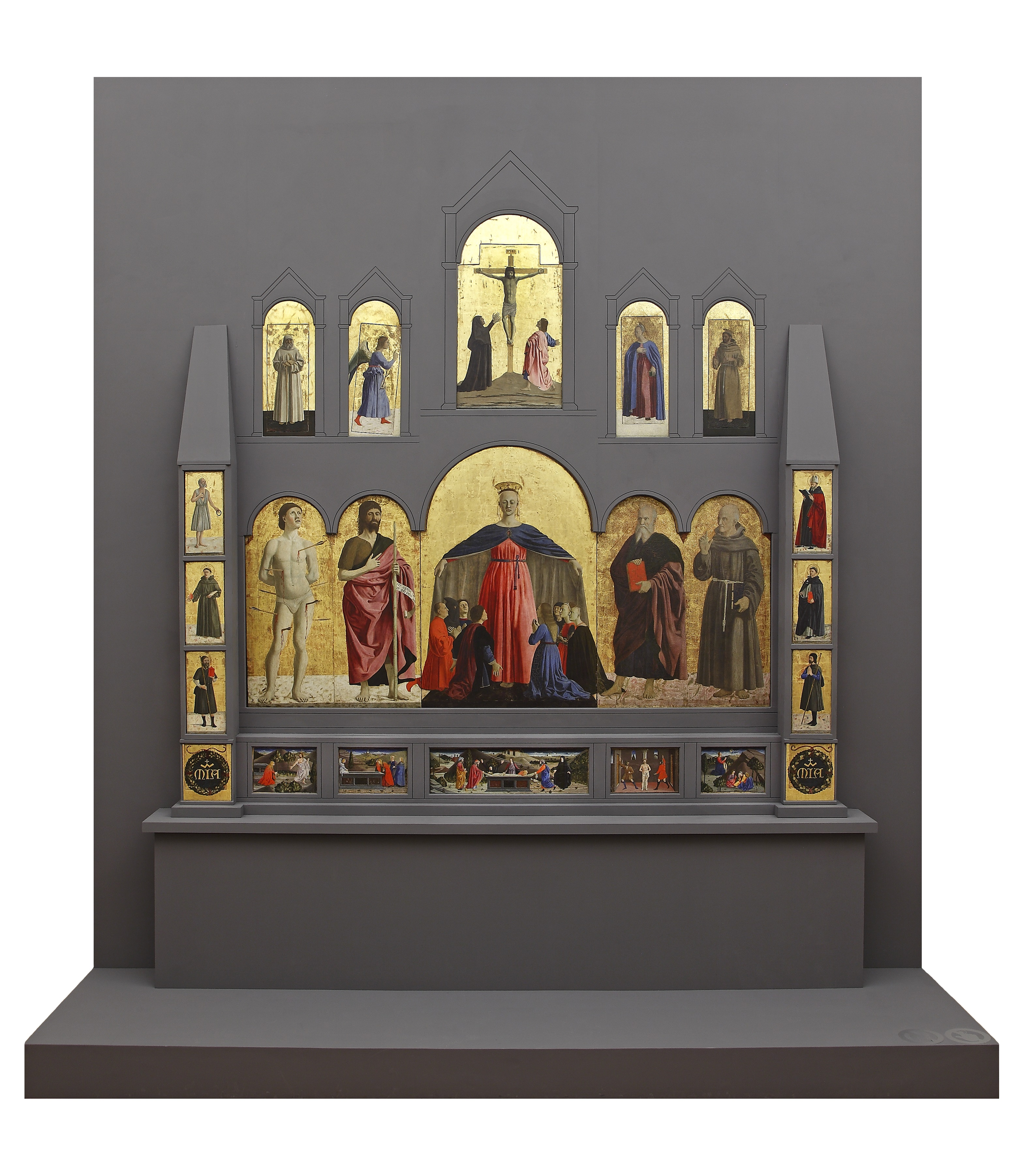 Pala d'altare Quattrocento Rinascimento Piero della Francesca