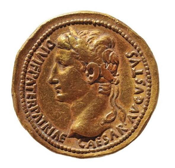 Ritratto Arte romana Moneta