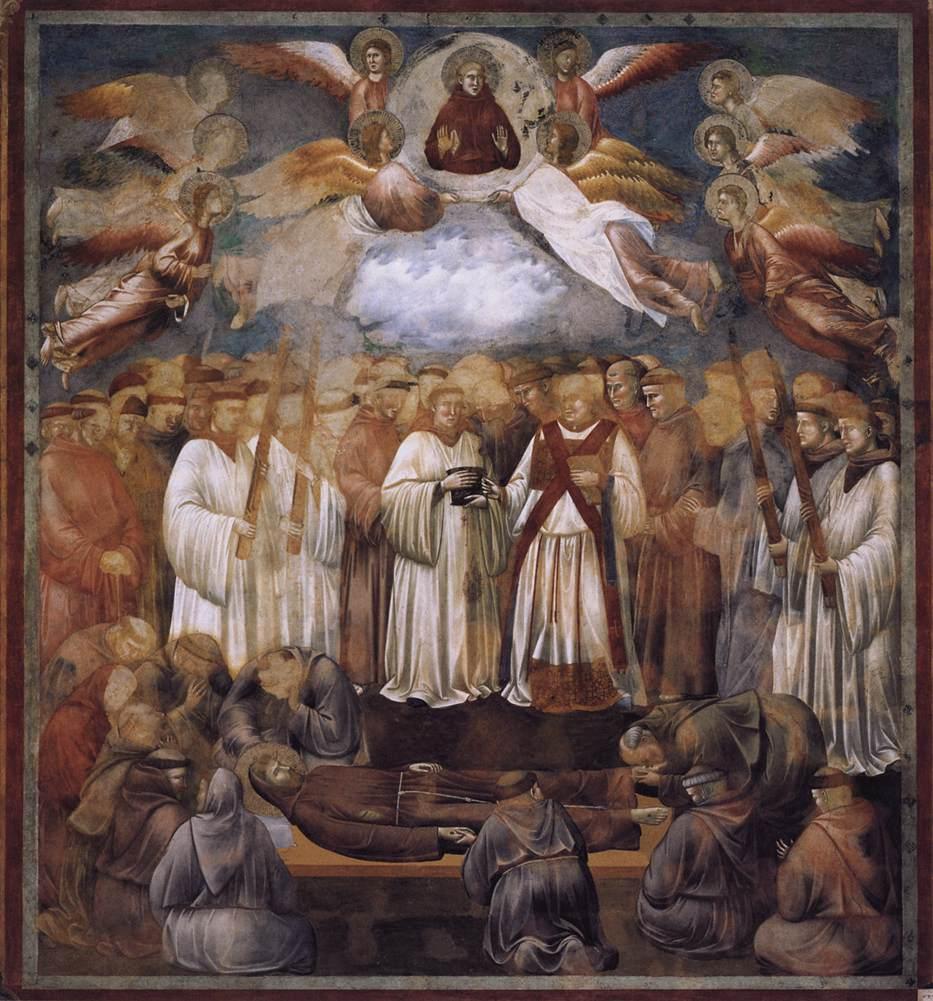 Giotto Pittura Assisi Medioevo Affreschi