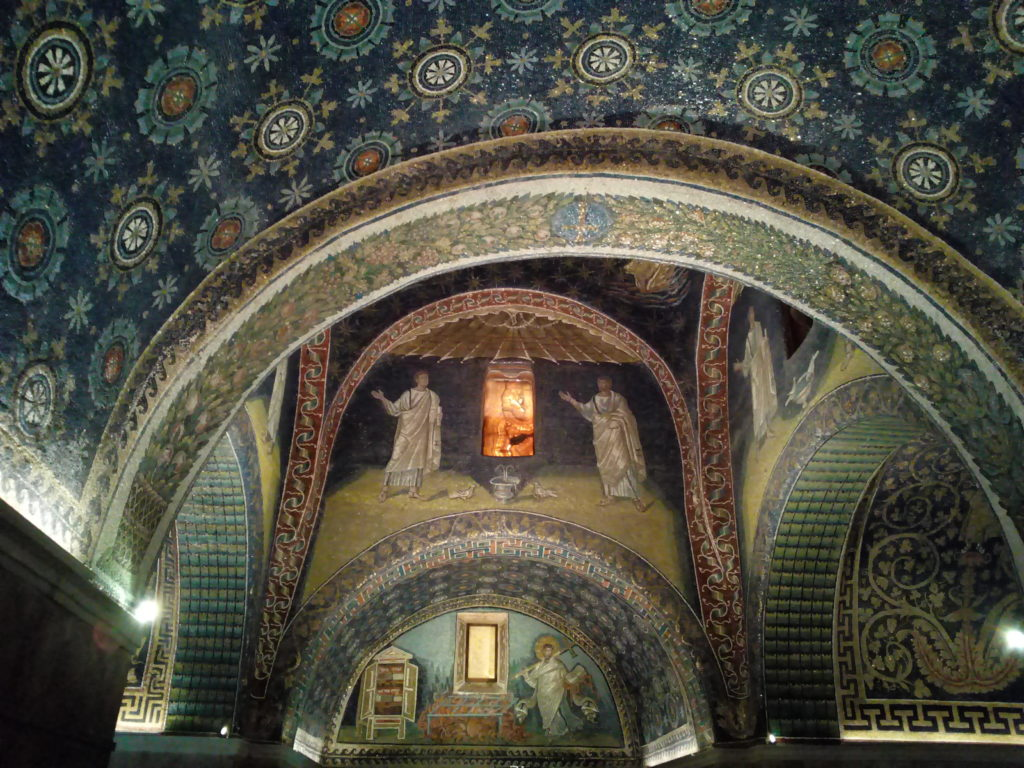 Mausoleo Galla Placidia Mosaici Tardo impero Medioevo