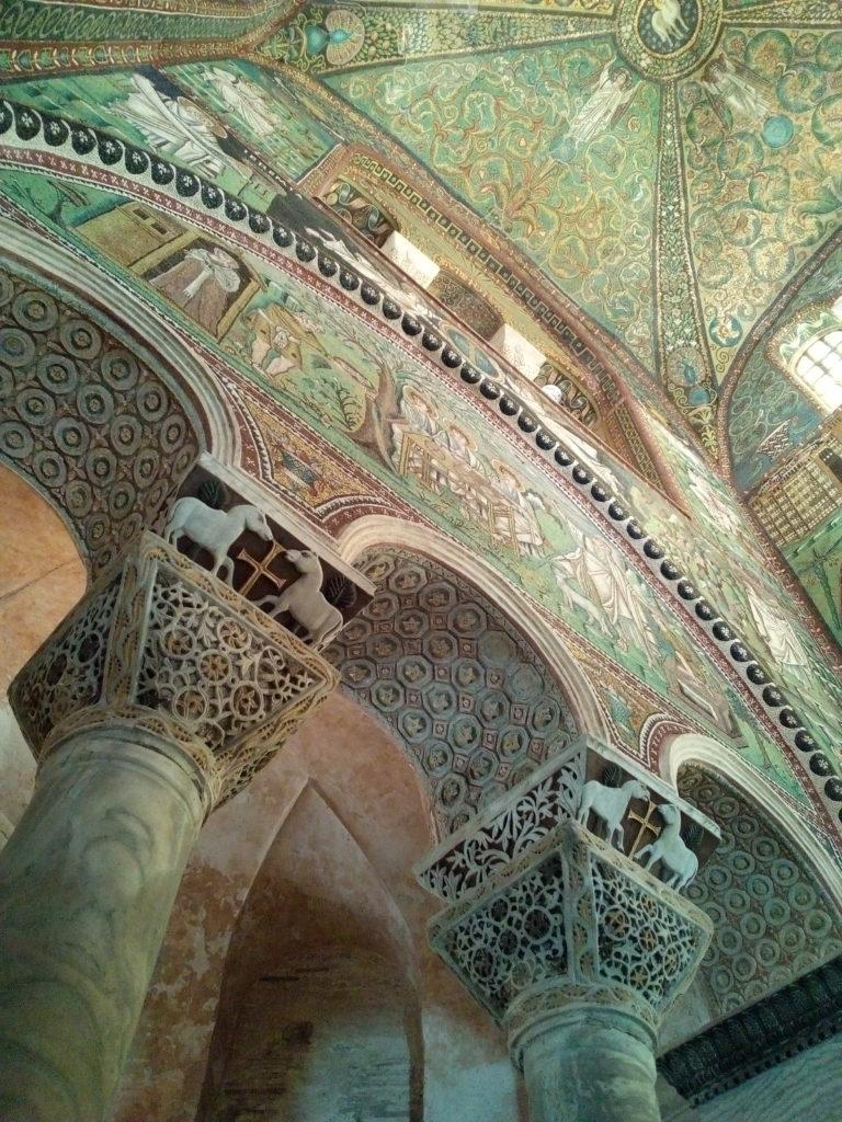 Ravenna Vitale Mosaico arte bizantina