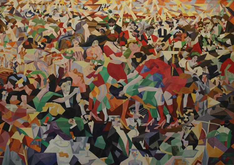 Pittura Futurimo Cubismo Avanguardie Danza Severini