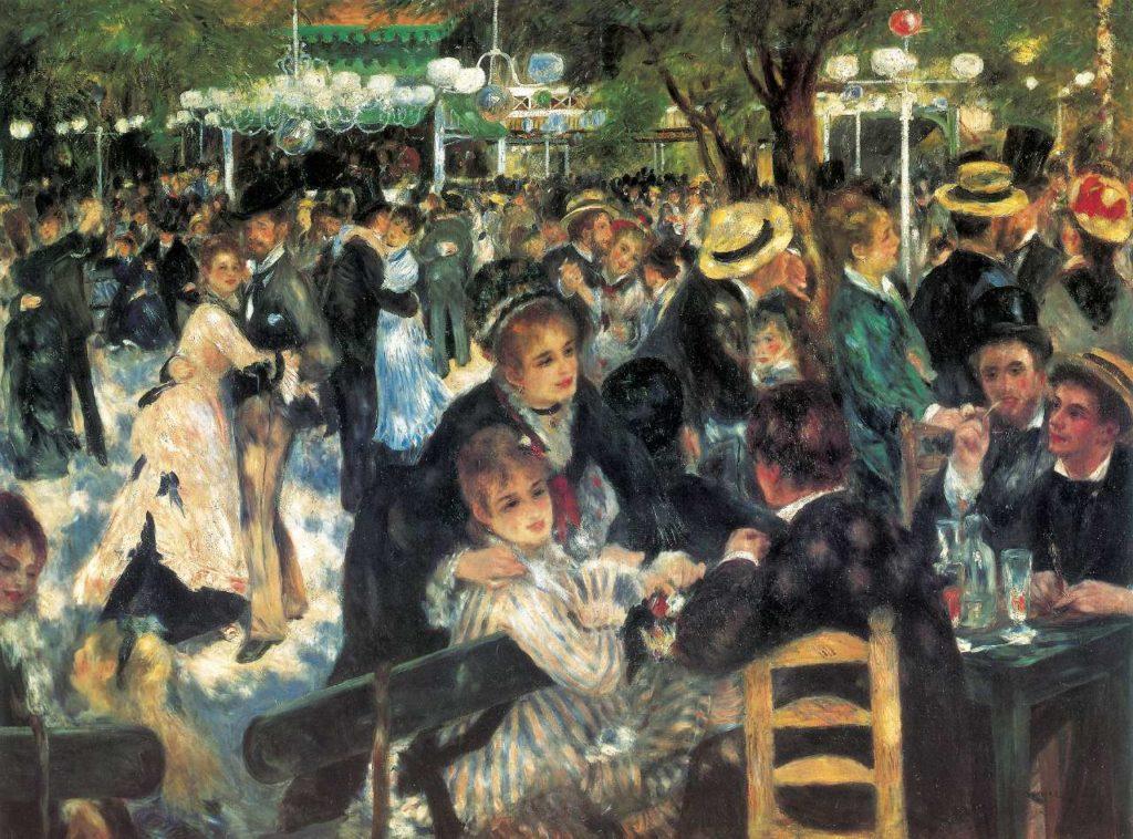 Impressionismo Renoir Pittura Ballo Francia