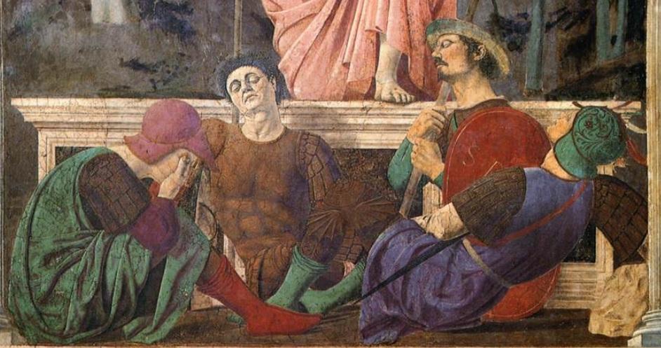 piero della francesca resurrezione sansepolcro