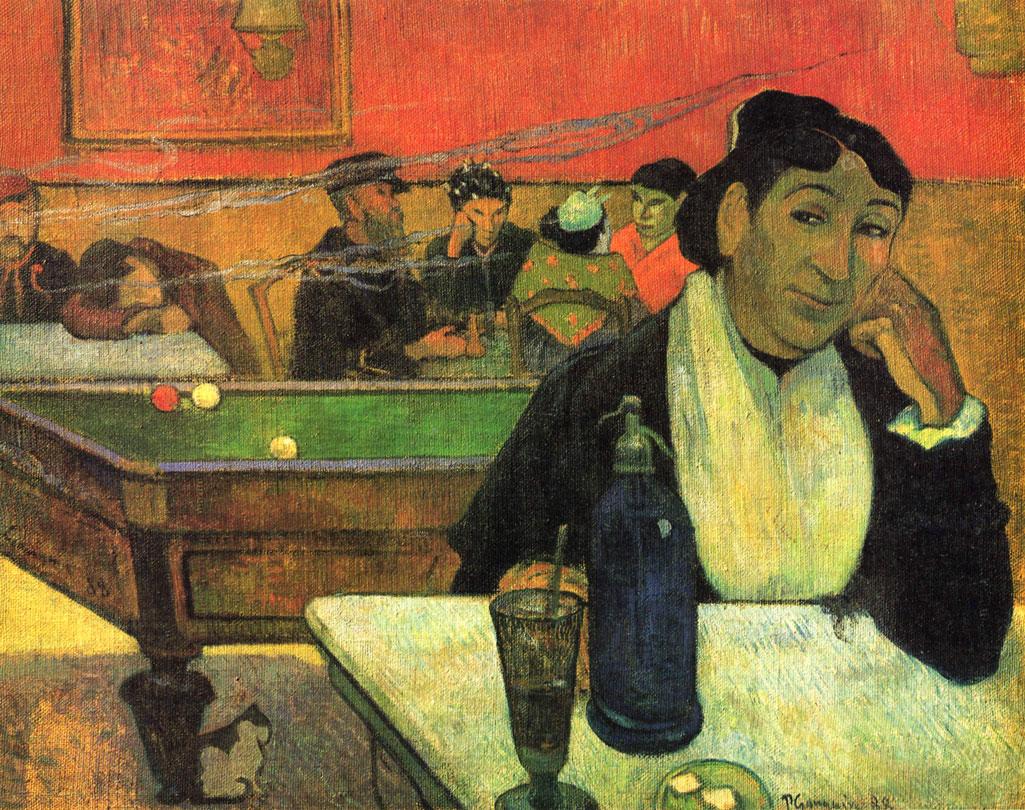 Madame Ginoux Caffè Gauguin Van Gogh Arles