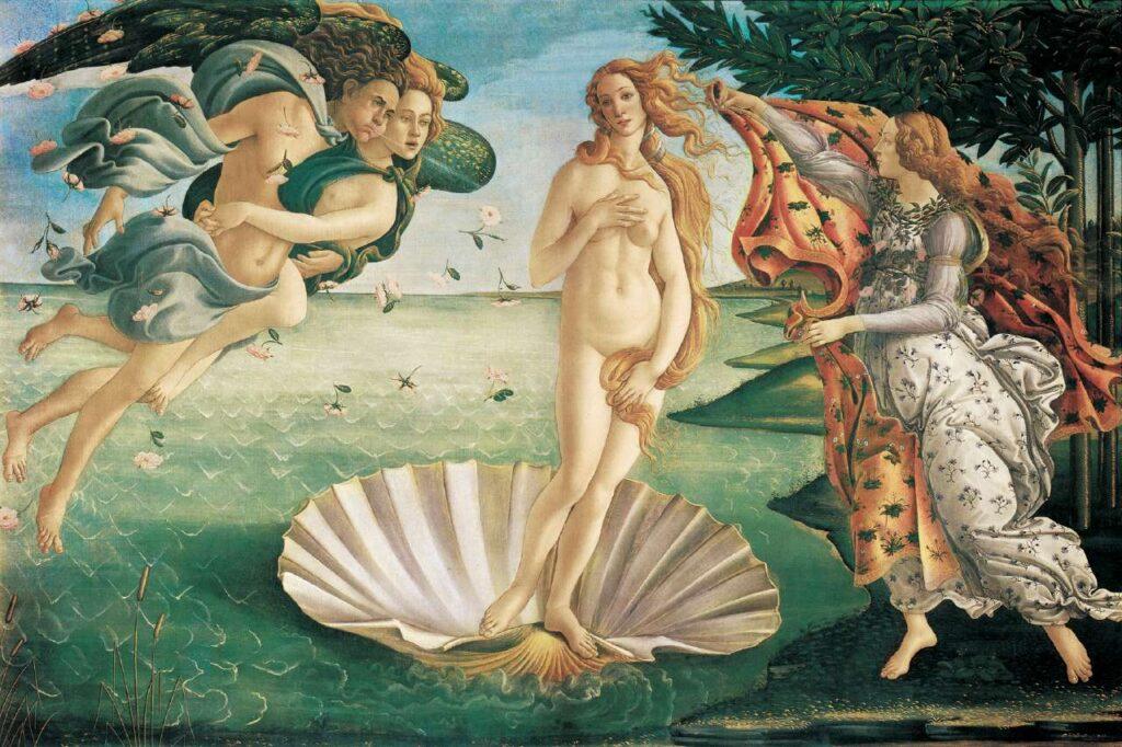 Botticelli nascita di Venere Uffizi