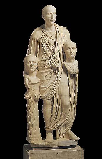 Togato Barberini scultura ritratto romano
