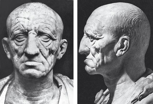 Ritratto romano jus imaginum scultura