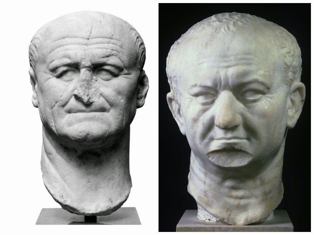 Vespasiano ritratto romano scultura