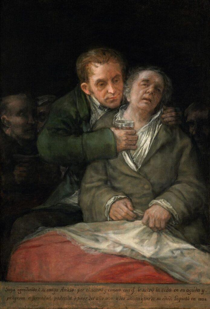 Goya malato disabilità medico arte spagnola