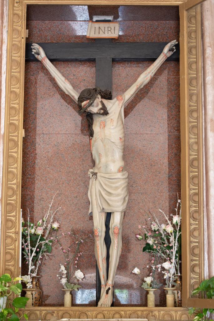 Crocifisso Pulsano Puglia scultura sacra