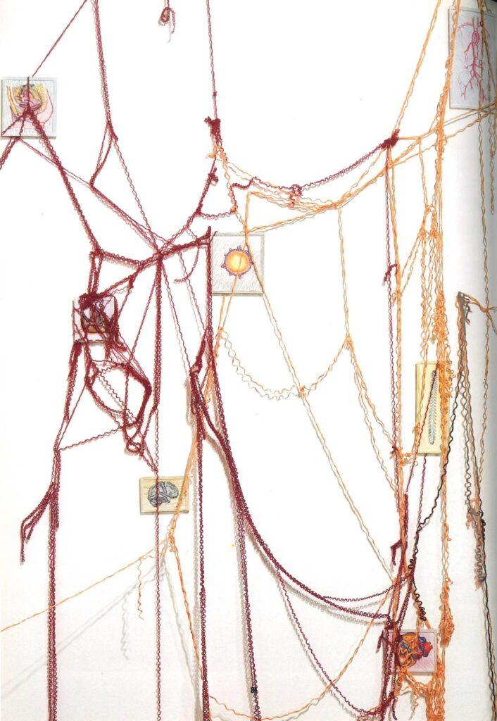 Aids Arte contemporanea Hiv Messager installazione